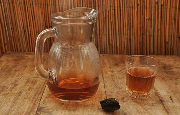 Чай из гриба чаги