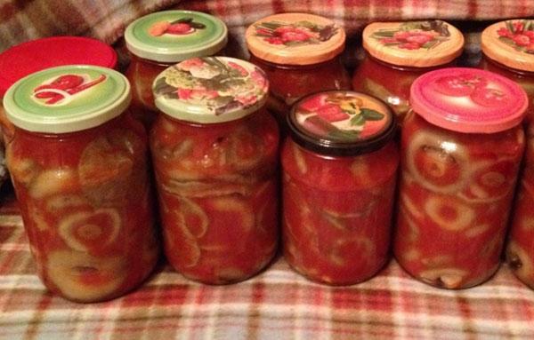маринованные грузди в томатном маринаде